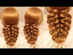 ▶ Trança indiana passo a passo - Cage braid ponytail | wonderful hairstyle | step by step - YouTube