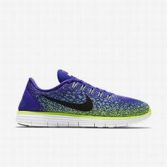 eca197c8b54 Nike Women s Persian Violet Green Glow Volt Black Free RN Distance Running  Shoe. Jordans SneakersAir JordansNike Air Force ...