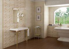 Decoración del baño con estilo romántico y femenino - http://decoracion2.com/decoracion-del-bano-de-estilo-romantico-y-femenino/64218/ #Baño, #Decoración, #Femenino, #Romántico