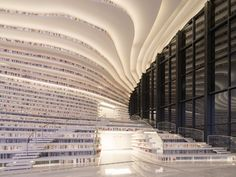 China Opens World's Coolest Library With 1.2 Million Books, And Its Interior Will Take Your Breath Away