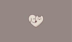 Ideas For House Logo Icon Projects Pet Shop, Cat And Dog Tattoo, Honey Logo, Dog Cafe, Minimalist Drawing, Dog Branding, Japanese Logo, Desenho Tattoo, Dog Logo