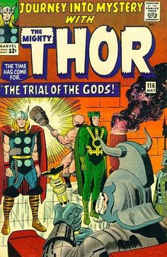 Journey Into Mystery #38, Thor vs Loki