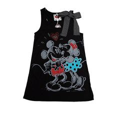 Mickey and Minnie Mouse Kiss Vest Top - Ladies