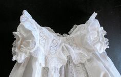 English Victorian Christening Gown...what could be sweeter...?