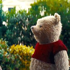 Winnie The Pooh Christopher Robin GIF - WinnieThePooh ChristopherRobin EwanMcgregor - Discover & Share GIFs Winnie The Pooh Pictures, Winnie The Pooh Quotes, Winnie The Pooh Friends, Eeyore, Tigger, Disney Movies, Disney Pixar, Pixar Movies, Christopher Robin Movie