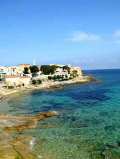 Algajola, Corse, été 2014 Corsica, Le Havre, France, Beautiful Places, Bucket, Island, Mansions, House Styles, Water