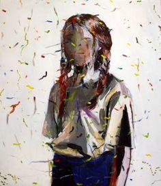 """Saatchi Art Artist Hanna Ilczyszyn;  Slikarstvo, """"Confetti"""" #art"""