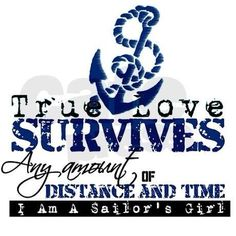 I may not be a Sailor's Girl in the traditional sense, but my daddy was in the Navy when I was young! I learned more about love from my parents than I could ever imagine, and know that through it all, true love survives.