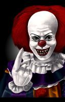 Pennywise the clown by super-badass