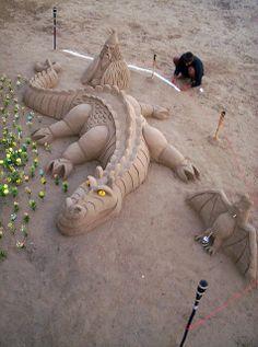 Dragón de arena | Flickr - Photo Sharing!