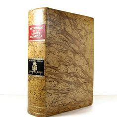 Leatherbound Spanish Dictionary, now featured on Fab.