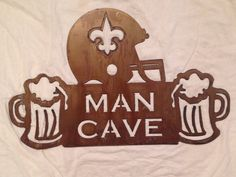 Man Cave Football Signs : Sport team signs charaworks rustic designs