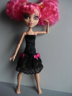 Handmade Clothes for  Monster High Doll  Howleen Wolf on Etsy, $9.23