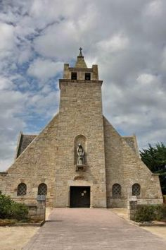 Chapelle Sainte-Anne à Kerfissien .Cléder . Finistère. Bretagne