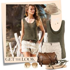"Grey Sweater Tank - ""Get the Look"" by wishlist123 on Polyvore"