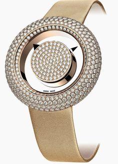 Master Horologer: Jacob & Co. Brilliant Mystery Pavé Diamonds