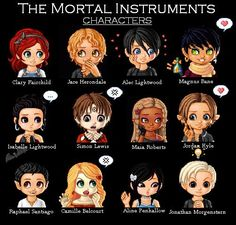 mortal instruments characters They're so adorable! Mortal Instruments Runes, Immortal Instruments, Shadowhunters The Mortal Instruments, Mortal Instruments Wallpaper, Clary Fray, Simon Lewis, Cassie Clare, Cassandra Clare Books, Clace
