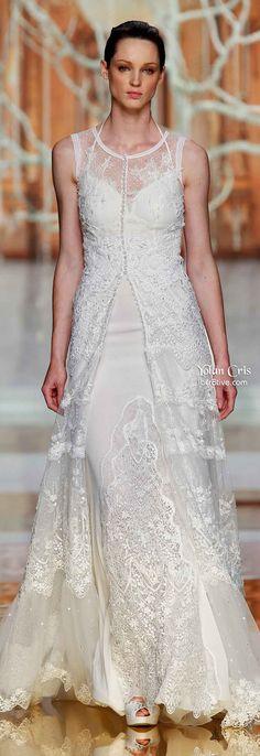 YolanCris Ethereal Evanescence Spring 2014 Bridal