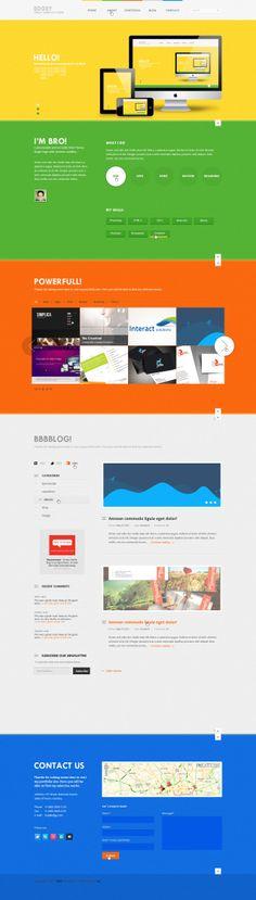 Assured High Quality Design by krishnachaitanya - 37362 | #onepage #layout