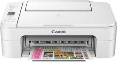 Canon - Pixma TS3120 Wireless All-In-One Printer - White