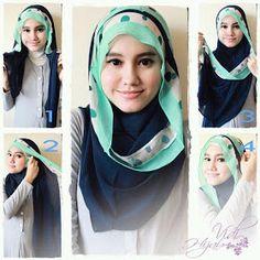 Loose shawl