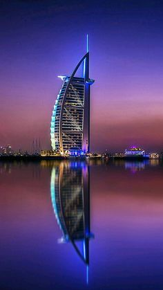 Burj Al Arab. Cityscape Wallpaper, City Wallpaper, Screen Wallpaper, Beautiful Landscape Wallpaper, Beautiful Landscapes, Carbon Fiber Wallpaper, Photographie Street Art, Dubai City, City Aesthetic