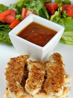 Sesame Chicken Tenders idea...