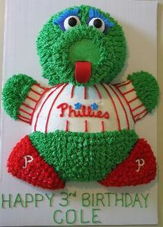 phillies grooms cakewould love to make this for my husbands