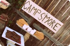 Photo 1 of 11: Camping, Smores / Camping/Smores Camp Smore | Catch My Party
