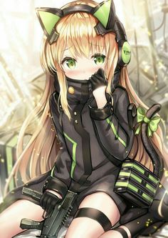 No one told me TMP's could be this cute [Girls Frontline] Post with 0 votes and 10662 views. No one told me TMP's could be this cute [Girls Frontline] Anime Neko, Manga Kawaii, Loli Kawaii, Chica Anime Manga, Kawaii Anime Girl, Kawaii Girl Drawings, Cool Anime Girl, Beautiful Anime Girl, Anime Girls