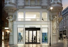 moderm architecture office christmas storefront decorating - Google Search