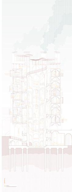 Calvin Po, UG1 Bartlett Y2 Regents Canal Project Housing Sabine Storp/Patrick Weber