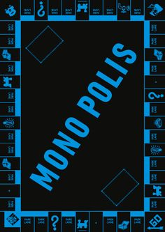 Part of Poster series for Plakatatak -Monopolis- gggrafik.de