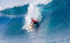 Surfing in Fiji