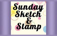 Sunday Sketch & Stamp Challenge Blog