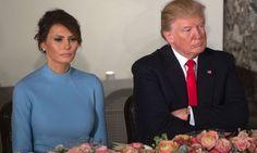 SOVER IKKE SAMMEN: Ifølge en kilde, som angivelig er et familiemedlem, nekter Melania Trump å sove i samme seng som sin ektemann. Foto: NTB Scanpix