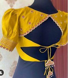 Blouse Back Neck Designs, Stylish Blouse Design, Fancy Blouse Designs, Bridal Blouse Designs, Design Of Blouse, Blouse Lehenga, Pattu Saree Blouse Designs, Lehenga Designs, Mehndi Designs