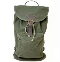 Braddock Backpack in Moss. <3