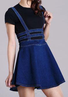 Denim Overall Dress                                                                                                                                                      More