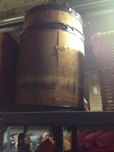 From the theater prop room - small barrel