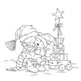 *Stamp* - Cuddling Ted