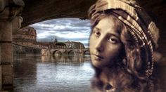 Just a stone's throw away from St.s Square in the Vatican City is the Ponte Sant' Today, this bridge is one of the famous tourist attractions in the city of Rome. Ancient Rome, Ancient History, Vatican City, European History, Present Day, Archaeology, Mythology, Famous People, Portrait