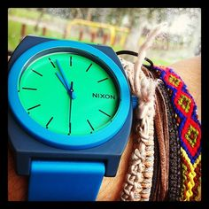 New NIXON watch... love it Wood Watch, Pure Products, Wooden Clock