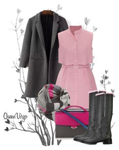 """Dress & Boot Fashion"" by queenvirgo on Polyvore featuring Fraas and Fendi"