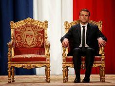 Emmanuel Bonaparte: Macron Declares He Will Govern Like a Roman God
