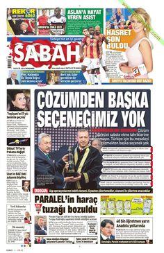 Gazete Manşetleri Sabah Gazetesi 18.09.2014 TARİHLİ GAZETE