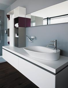 Bathroom, The Interesting Design Idea Also White Design Idea Also Sink Then Faucet Design Ides Also Flooring Design Idea ~ The Best Time With The Beautiful Of The Cool Sinks For Bathrooms Style Look So Wonderful