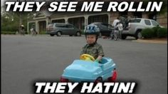 they see me rollin vine - YouTube