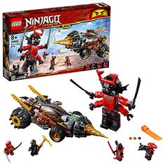 Lego Ninjago sets are a great way for kids to express their feelings. See 20 of the best LEGO NINJAGO sets for Ninjago Lego Sets, Lego Ninjago Ninja, Ninjago Cole, Lego Ninjago Minifigures, Lego Chima, Power Rangers, Lego City Space, Warriors Standing, Construction Lego