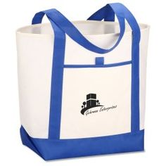 Set Sail Boat Tote (Item No. 113763) from only 99c ready to be imprinted by 4imprint Promotional Products